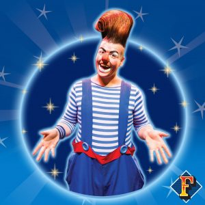 Fossetts Circus - Otto The Clown, Irelands National Circus